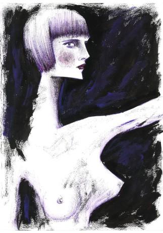 donna, 24x32 cm