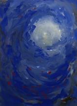 abisso blu, 80x60 cm