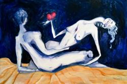 Incompleto, 150x100 cm, dipinto su tela, 2014