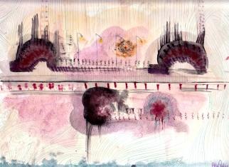 Serie Cicli Alieni #2, 22x31 cm