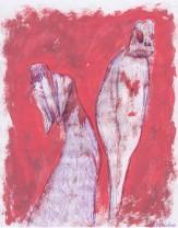 cuore di mostro, 21x29 cm