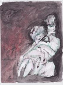 abbraccio, 21x29 cm