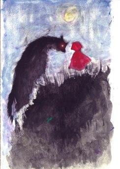 Quando il lupo incontra cappuccetto rosso