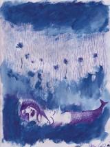 Sirena morente sul prato, dimensioni 21x29 cm, 2015